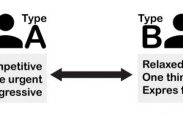 type a and type b comparison using diagram